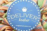 Deliver Kosher Bulk Candy - Rainbow Sour Belts