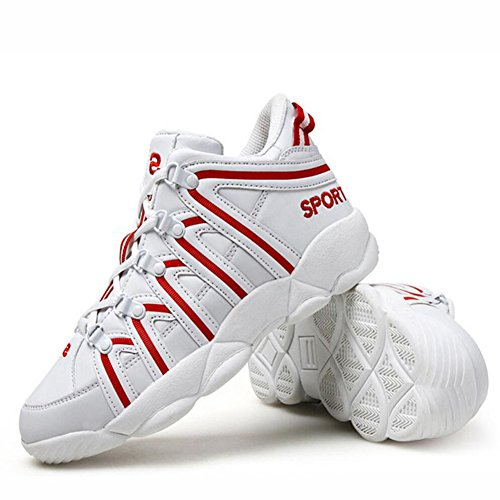 Colors Comfortable Shoes Paragraph Lovers Breathable Outdoor and GAOLIXIA Women's Mixed Women The Men Shoes Same Red Running Shoes Sneakers with qxptwg84