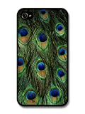 Best Cases For Iphone 4s In Greens - Colourful Peacock Feather Shapes in Beautiful Green case Review