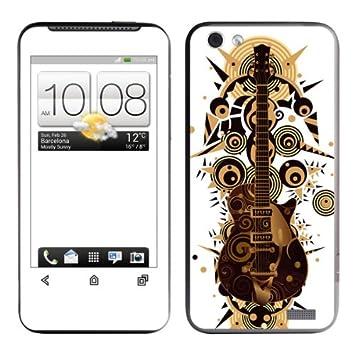 Diabloskinz B 0076-0004-0040 Skin para HTC One V-de guitarra ...