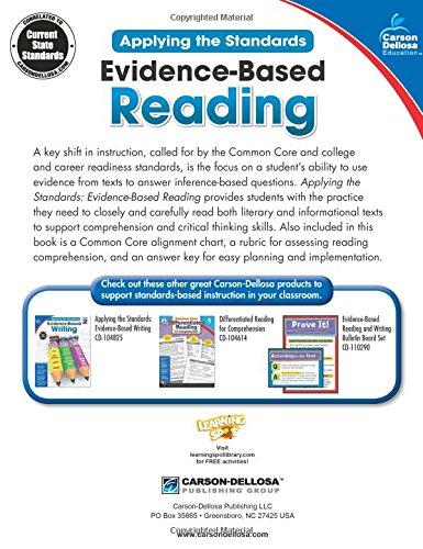 Amazon evidence based reading grade 2 applying the standards amazon evidence based reading grade 2 applying the standards 0044222242053 carson dellosa publishing books fandeluxe Choice Image