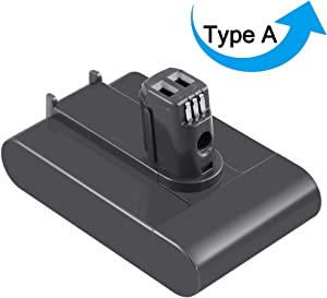 3000mAh DC31 Replacement for Dyson 22.2V Battery Compatible with Dyson DC31 DC34 DC35 DC44 (Not Fit Type B, DC44 MK2) 917083-01 Handheld Vacuum