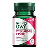 vitex 1000 - Nature's Own Vitex Agnus Castus 1000mg 60 Capsules product of Australia