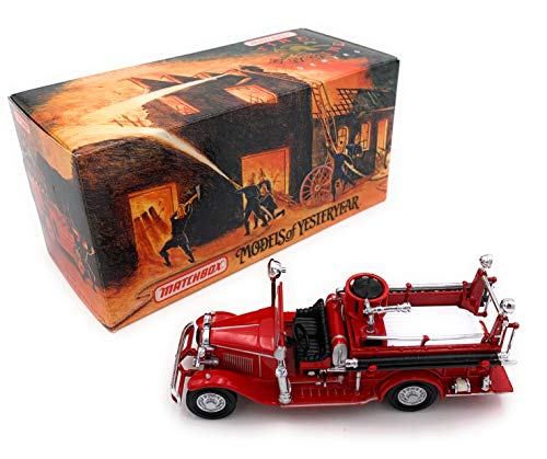 1932 Ford AA Open Cab Fire Engine Matchbox Fire Engine Models of Yesteryear Series by Matchbox