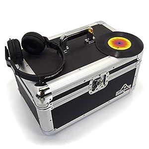 Gorilla 7″ Singles Vinyl Record Carry Case Storage Box Tough Strong Holds 200pcs inc Lifetime Warranty