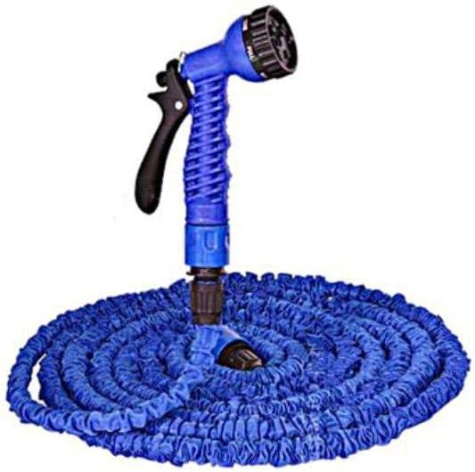 AWJ Garden Hose Expandable, Magic Hose Pipe, Flexible Expanding Hose Pipe, Spray Pipes Blue