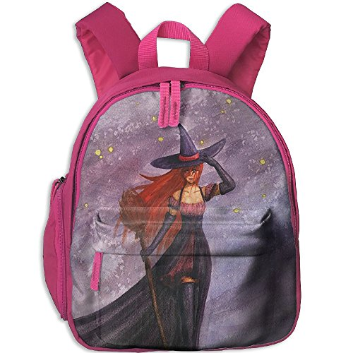 HUEH Outdoor The Witch Halloween Night Kids Snack Backpack School Book Bags Gift For Toodle Teen Boys (Halloween Snacks For Toddlers)