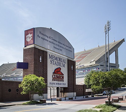 Photograph | Clemson University's Memorial Stadium in Clemson, South Carolina, known affectionately at the school and by the football team's fans as