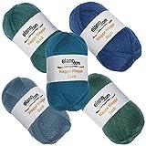 elann Wagga Wagga Sock Yarn   5 Ball Bag   CP3 126 128 129 134 135