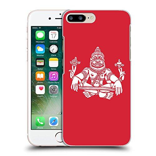 GoGoMobile Coque de Protection TPU Silicone Case pour // Q09550601 Hindou 9 Alizarine // Apple iPhone 7 PLUS