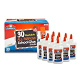 Elmer's Liquid School Glue, Washable, 12 Pack and All Purpose School Glue Sticks, Washable, 30 Pack, 0.24-Ounce Sticks
