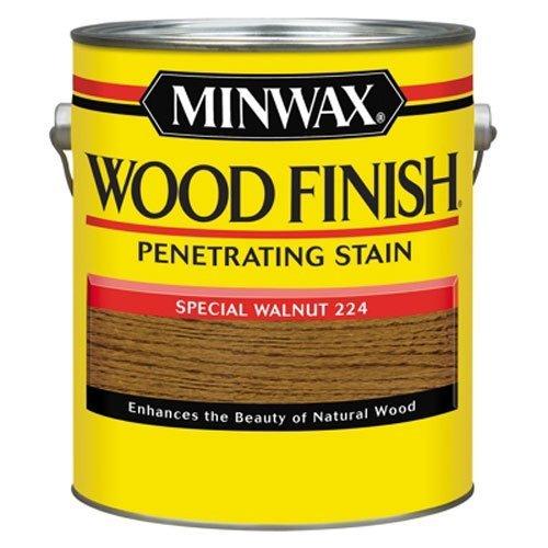 Minwax 71006000 Wood Finish Penetrating Stain, gallon, Special Walnut (Walnut Gallon)