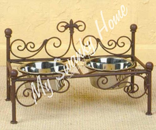 French Cottage Fleur Feeder Scroll product image