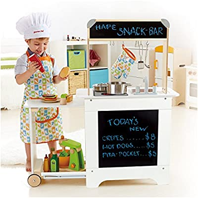 Hape - Playfully Delicious - Cook n' Serve Kitchen Wooden Play Set