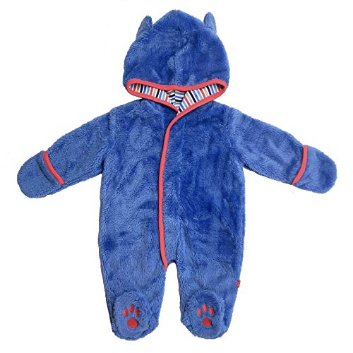Magnetic Me So Soft Minky Fleece Magnetic Snowsuit Bunting Pram Cobalt Blue