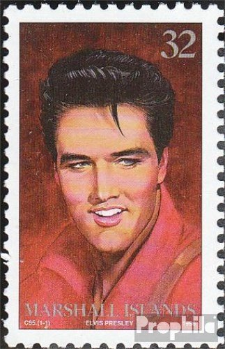 Marshall-Islands 712 (Complete.Issue.) 1996 Elvis Presley (Stamps for Collectors) Music/Dance ()