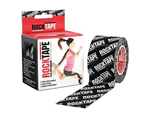 RockTape, Black Logo, 2' x 16.4' (5cmx5m)