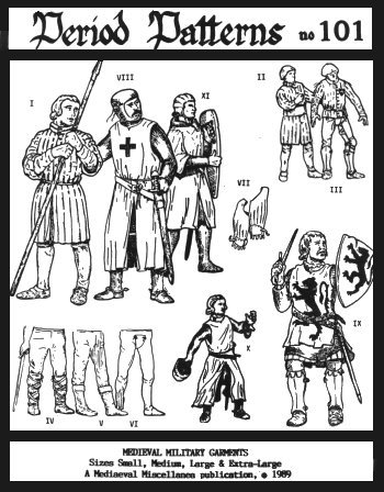 [Medieval Military Garments Patterns] (Codpiece Costumes)