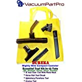 Eureka Mighty Mite Canister Vacuum Tool Set In A Tote By Vacuum Part Pro