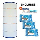 Pleatco Cartridge Filter PA150S Hayward Swimclear C150S CS150XRE w/ 3x Filter Washes