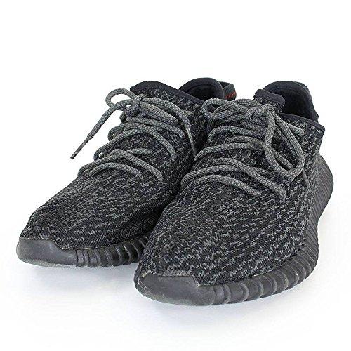 (アディダス)adidas ×カニエウエスト 【YEEZY BOOST 350 PIRATE BLACK】【AQ2659】ローカットスニーカー(27cm/ブラック) 中古 B077GMTQRH