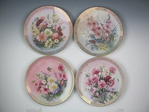 Lot of 12 W.S. George China SYMPHONY OF SHIMMERING BEAUTY Collector