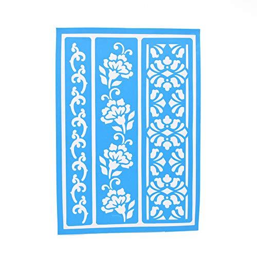 Homeford Borders Adhesive Stencil, - Border Stencils Adhesive