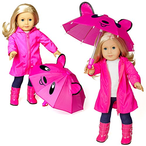 Emma's Heart Doll Clothes for 18 Inch American Girl Dolls,