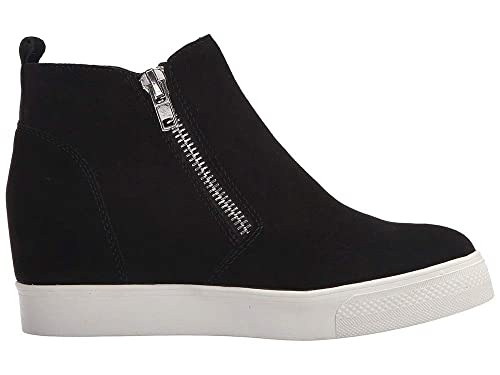 900ccd394aeb1 Kathemoi Womens Platform Wedge Sneakers Perforated Breathable High Top Side  Zipper Ankle Booties