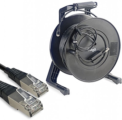 Stagg NCC50RJRL 12-Inch Professional Network Cable with Reel