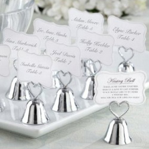 Kissing Bell Place Card/Photo Holder (Set of 96)