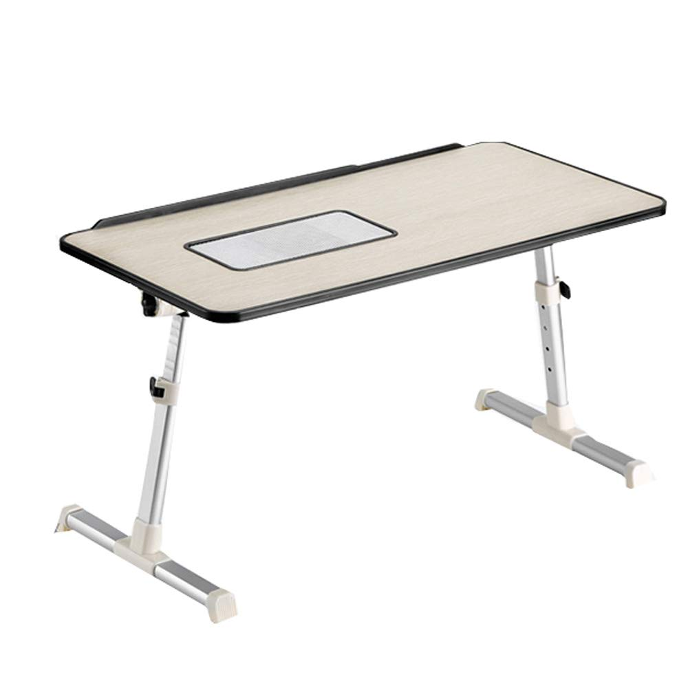 DWhui Folding Laptop Desk USB Table e-Table Cooling Fans TV Tray Applicable Patient Care Table, Coffee Table, Computer Table