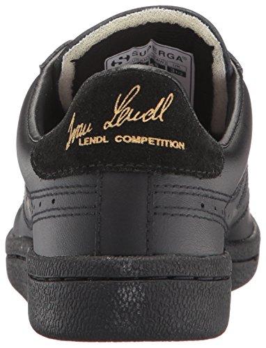 Superga Femmes 4832 Efglu Fashion Sneaker Total Noir