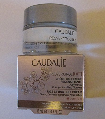 Firming Serum By Caudalie (Caudalie Resveratrol Lift Face Lifting Soft Cream Deluxe Sample .5 Ounce)