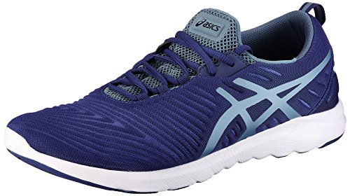 Asics Mens Supersen Deep Cobalt, Blue Mirage and Black Running Shoes - 11 UK/India (46.5 EU) (12 US)
