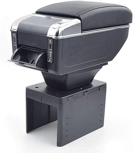 QCFSXWDDX Para Opel Corsa b/Zafira Caja de reposabrazos USB Carga realce Doble Capa Central Almacén Contenido Contenido cenicero Accesorios: Amazon.es: Coche y moto
