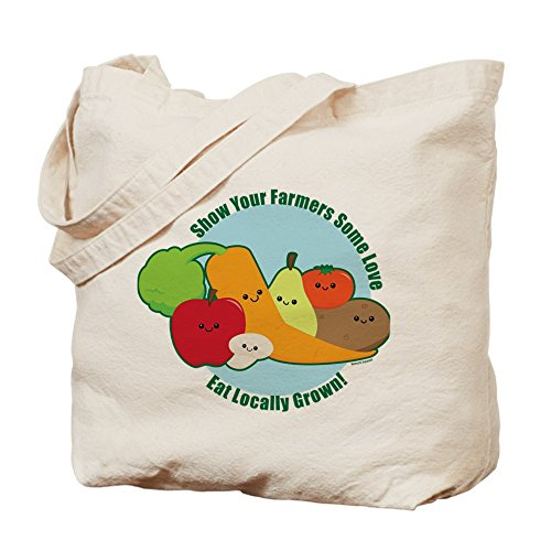 Bolso de totalizador de CafePress - Go local! Bolso de mano