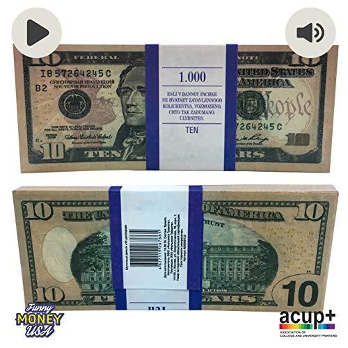 Prop Money – 10 $ Souvenir Money 10 $