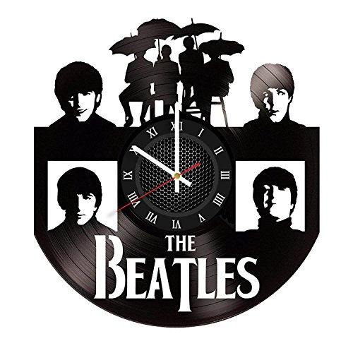 The Beatles Vinyl Record Wall Clock . Get unique home room wall art decor. Cool gift ideas for boys, girls, kids, teens, men and - Vinyl Boy