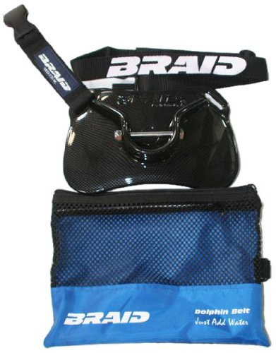 Braid Products Dolphin Carbon Fiber Belt with Gimbal Pin (Fits (Braid Dolphin Belt)