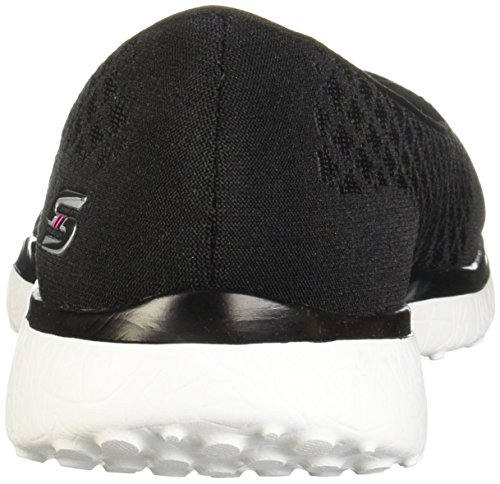 Black Fashion Sneaker One Microburst Women's Skechers up White nw7qfYWSx