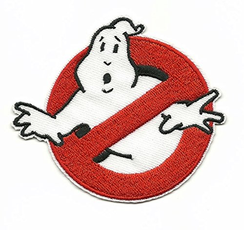 GHOSTBUSTERS Iron On/Sew On Embroidered Patch -