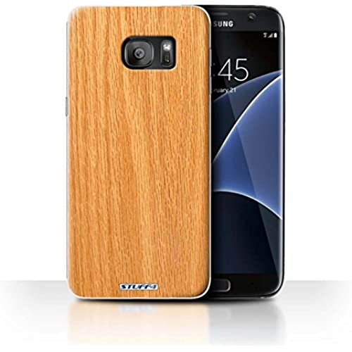 STUFF4 Phone Case / Cover for Samsung Galaxy S7 Edge/G935 / Pine Design / Wood Grain Effect/Pattern Collection Sales