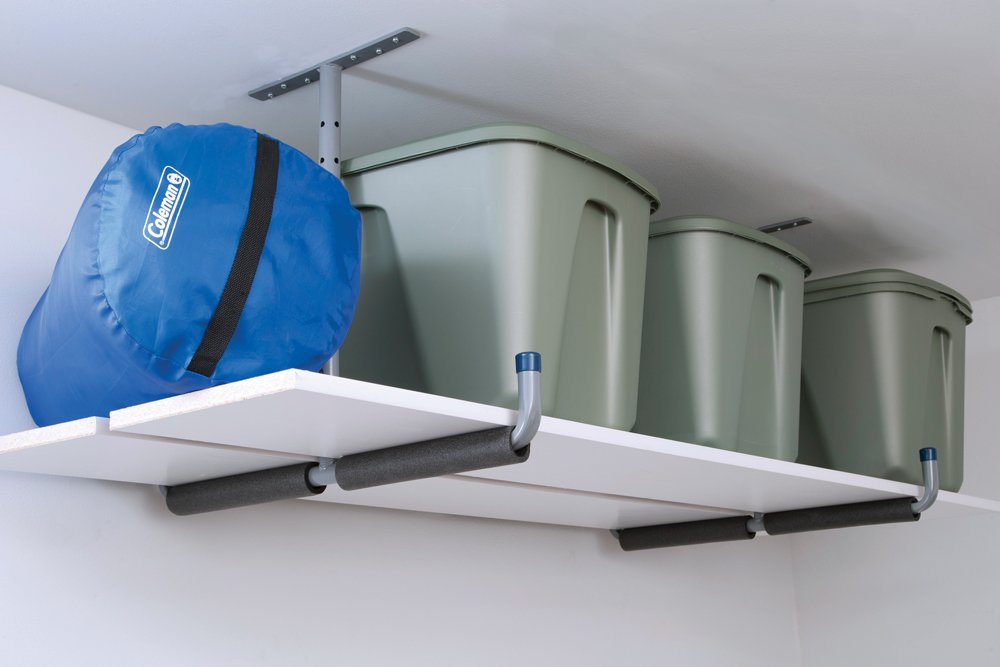 Lehigh H13010 Two Way Adjustable Overhead Storage Hanger, Grey by Lehigh (Image #2)