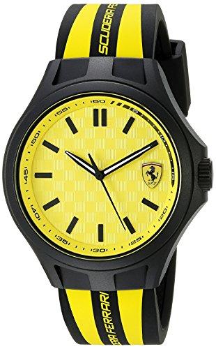 Ferrari-830285-Pit-Crew-Analog-Display-Quartz-Black-Watch