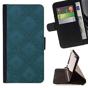 For HTC One Mini 2 M8 MINI Case , Simple Patrón 1- la tarjeta de Crédito Slots PU Funda de cuero Monedero caso cubierta de piel