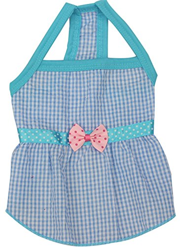 [Uniquorn 2017 New Spring Summer Pet Dog Skirt Lovely lady sling bow tie skirt Breathable And Comfortable Dogs] (Dorothy Wizard Of Oz Costume Pattern Free)