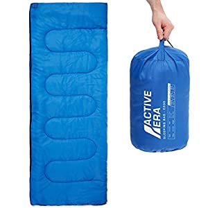 Premium Lightweight Single Sleeping Bag - Warm and Water Resistant, Perfect for Indoor Use or Outdoor Camping, Hiking, Fishing & Travelling 10