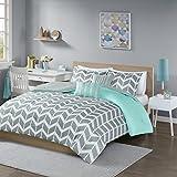 Intelligent Design Nadia Comforter Set, Full/Queen, Teal