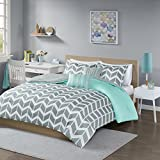Intelligent Design Nadia Comforter Set Full/Queen, Teal